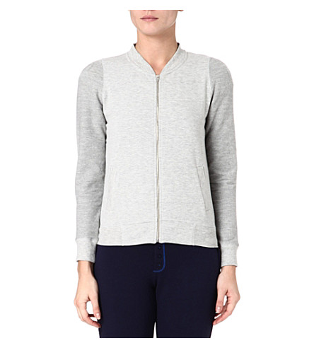 PRINCESSE TAM TAM Jersey zip jacket (Grey