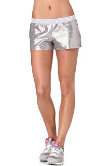 PRINCESSE TAM TAM Metallic shorts
