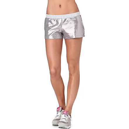 PRINCESSE TAM TAM Metallic shorts (Argent