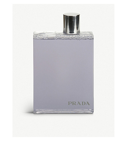 PRADA Prada Man bath and shower gel 200ml