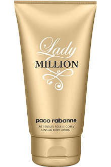 PACO RABANNE Lady Million body lotion 150ml