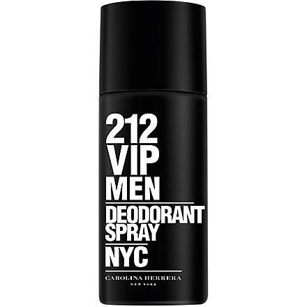 CAROLINA HERRERA 212 VIP Men deodorant spray 150ml