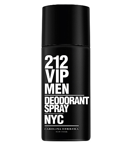 CAROLINA HERRERA 212 VIP Men deodorant spray 150ml