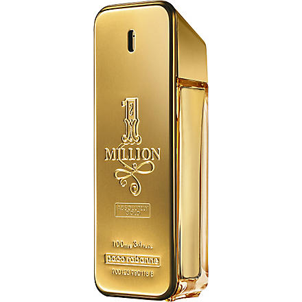 PACO RABANNE 1 Million Absolutely Gold eau de parfum 100ml