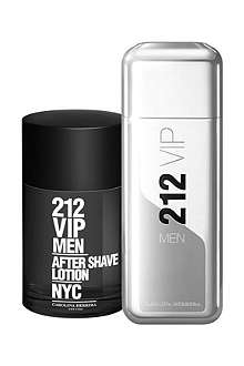 CAROLINA HERRERA 212 VIP Men eau de parfum 100ml gift set