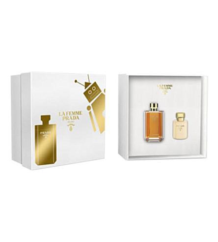 PRADA La Femme eau de parfum 100ml gift set