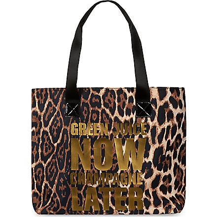JUICY COUTURE Graphic sport tote (Leopard