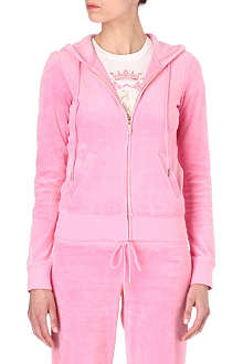 JUICY COUTURE Bardot zip hoody