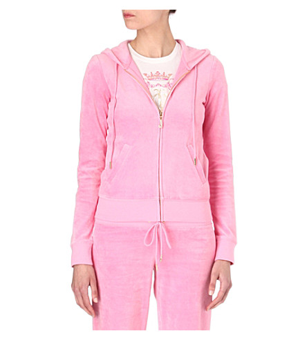 JUICY COUTURE Bardot zip hoody (Bardot
