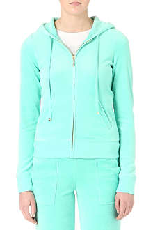 JUICY COUTURE J-Bling velour hoody