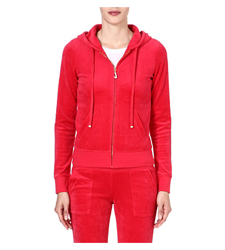 JUICY COUTURE Bling zip hoody (Poppy