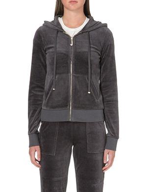 JUICY COUTURE Bling zip hoody