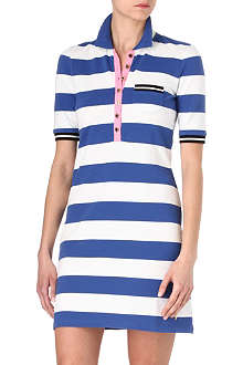 JUICY COUTURE Malibu striped polo dress