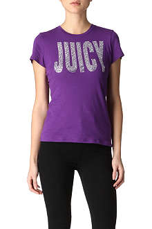 JUICY COUTURE Crystal-embellished t-shirt