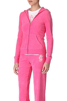 JUICY COUTURE Viva Palm Terry hoody