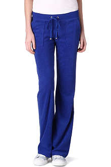 JUICY COUTURE Velour jogging bottoms