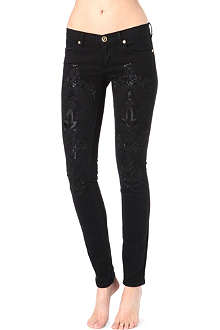 JUICY COUTURE Beaded skinny jeans