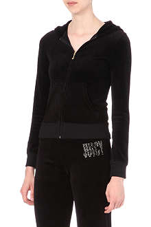 JUICY COUTURE Choose Juicy velour hoody