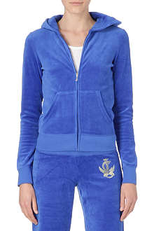 JUICY COUTURE Bohemian velour hoody