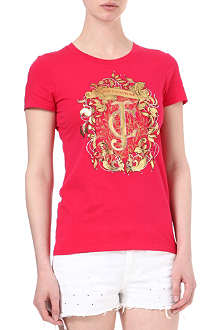 JUICY COUTURE Baroque crest t-shirt