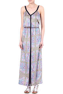 JUICY COUTURE Starflower tank maxi dress