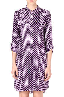 JUICY COUTURE Corsica printed silk dress