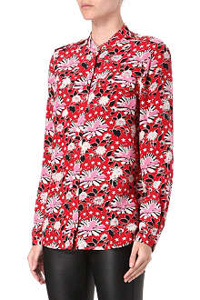 JUICY COUTURE Printed silk shirt