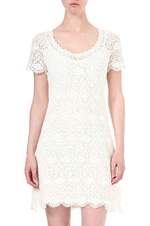 JUICY COUTURE Angel crochet lace dress