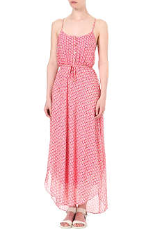JUICY COUTURE Starflower crepe maxi dress