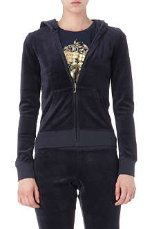 JUICY COUTURE Laurel velour hoody