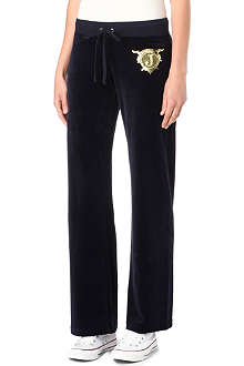 JUICY COUTURE Original velour jogging bottoms