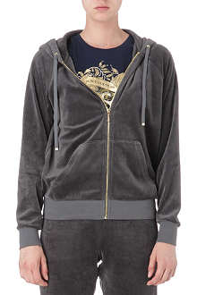JUICY COUTURE Relaxed velour hoody