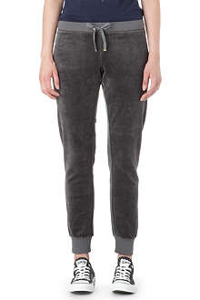 JUICY COUTURE Relaxed velour jogging bottoms