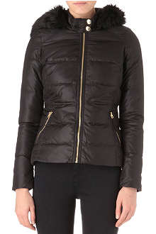 JUICY COUTURE Whitney hooded padded jacket