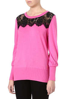 JUICY COUTURE Nicola lace jumper