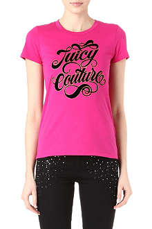 JUICY COUTURE Fancy Script t-shirt