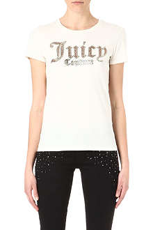 JUICY COUTURE Foil script t-shirt