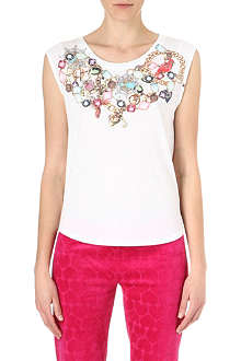 JUICY COUTURE Jewel-print t-shirt