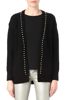 JUICY COUTURE Dome studded cardigan