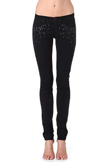 JUICY COUTURE Splatter skinny jeans