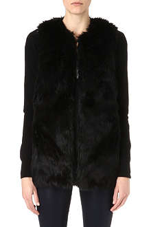 JUICY COUTURE Faux-fur gilet