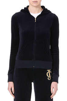 JUICY COUTURE Regal velour hoody