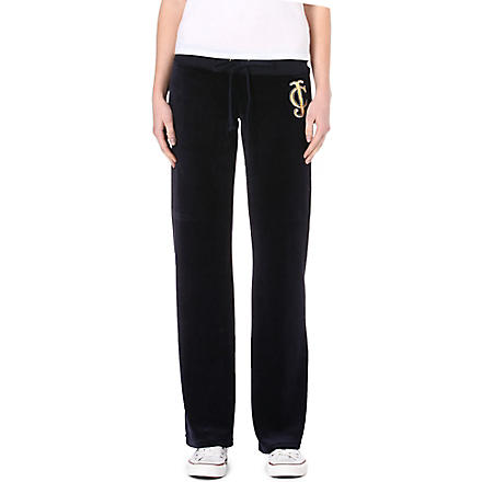 JUICY COUTURE Regal velour jogging bottoms (Regal