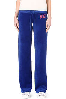JUICY COUTURE Neon studded jogging bottoms