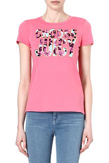 JUICY COUTURE Choose Juicy cotton t-shirt