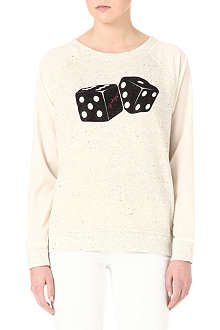 JUICY COUTURE Dice-print jumper