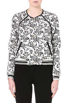 JUICY COUTURE Jacquard bomber jacket