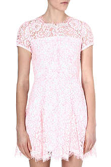 JUICY COUTURE Scallop-trimmed lace dress