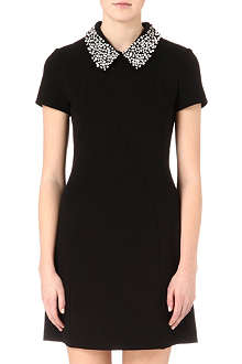 JUICY COUTURE Embellished-collar dress