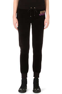 JUICY COUTURE Choose Juicy slim velour jogging bottoms
